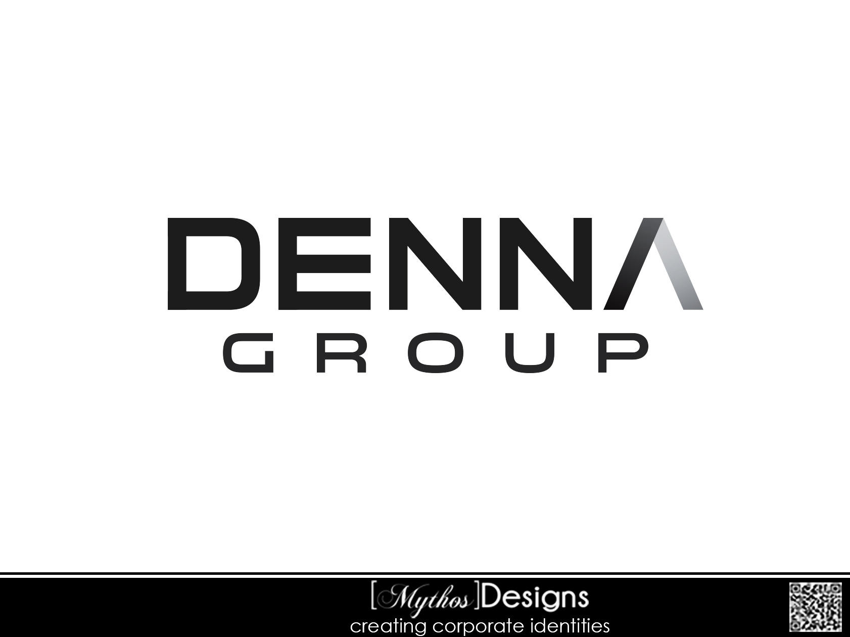 Logo Design by Mythos Designs - Entry No. 152 in the Logo Design Contest Denna Group Logo Design.