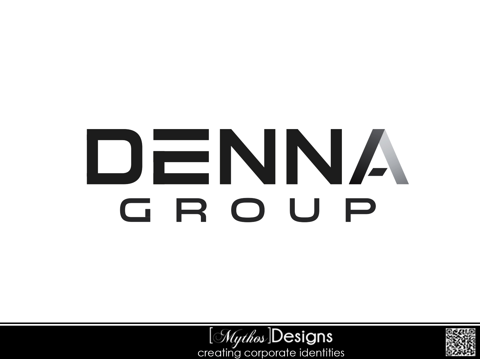 Logo Design by Mythos Designs - Entry No. 155 in the Logo Design Contest Denna Group Logo Design.