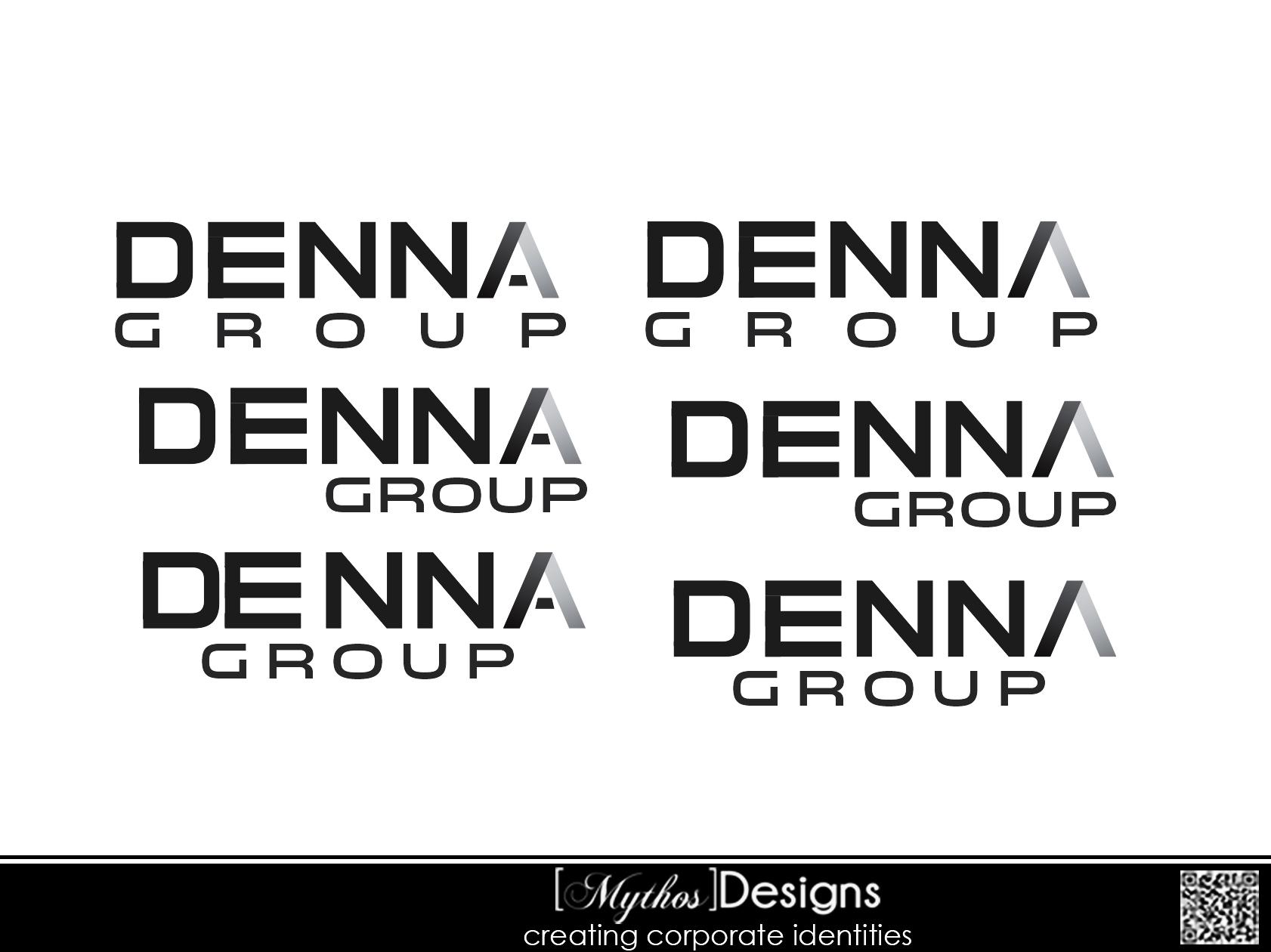 Logo Design by Mythos Designs - Entry No. 159 in the Logo Design Contest Denna Group Logo Design.