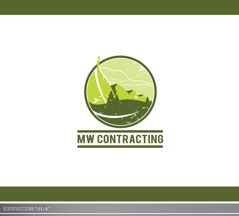 Logo Design by kowreck - Entry No. 64 in the Logo Design Contest Unique Logo Design Wanted for MW Contracting.