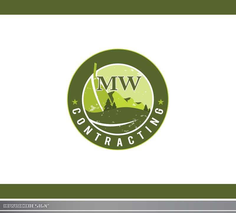 Logo Design by kowreck - Entry No. 65 in the Logo Design Contest Unique Logo Design Wanted for MW Contracting.