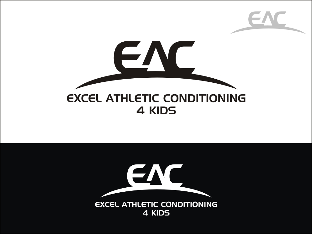Logo Design by RED HORSE design studio - Entry No. 86 in the Logo Design Contest Artistic Logo Design for Excel Athletic Conditioning 4 kids.