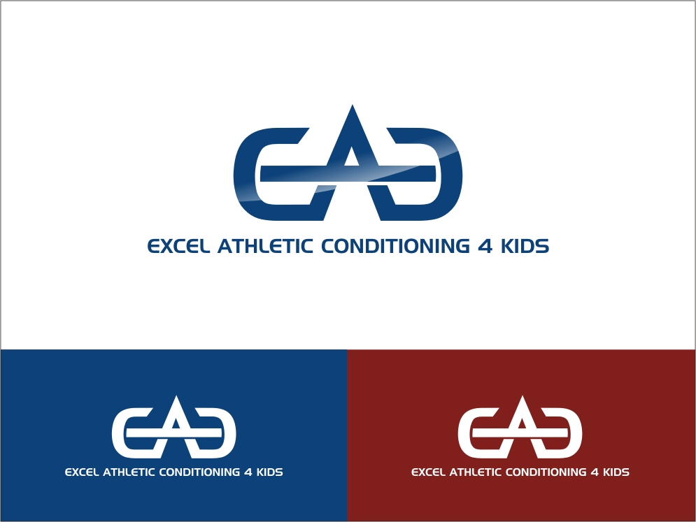 Logo Design by RED HORSE design studio - Entry No. 88 in the Logo Design Contest Artistic Logo Design for Excel Athletic Conditioning 4 kids.