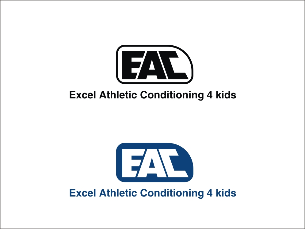 Logo Design by RED HORSE design studio - Entry No. 90 in the Logo Design Contest Artistic Logo Design for Excel Athletic Conditioning 4 kids.