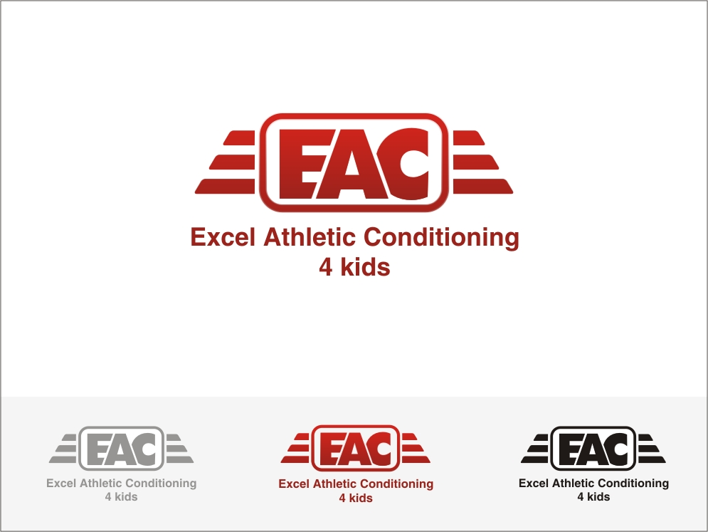 Logo Design by RED HORSE design studio - Entry No. 91 in the Logo Design Contest Artistic Logo Design for Excel Athletic Conditioning 4 kids.
