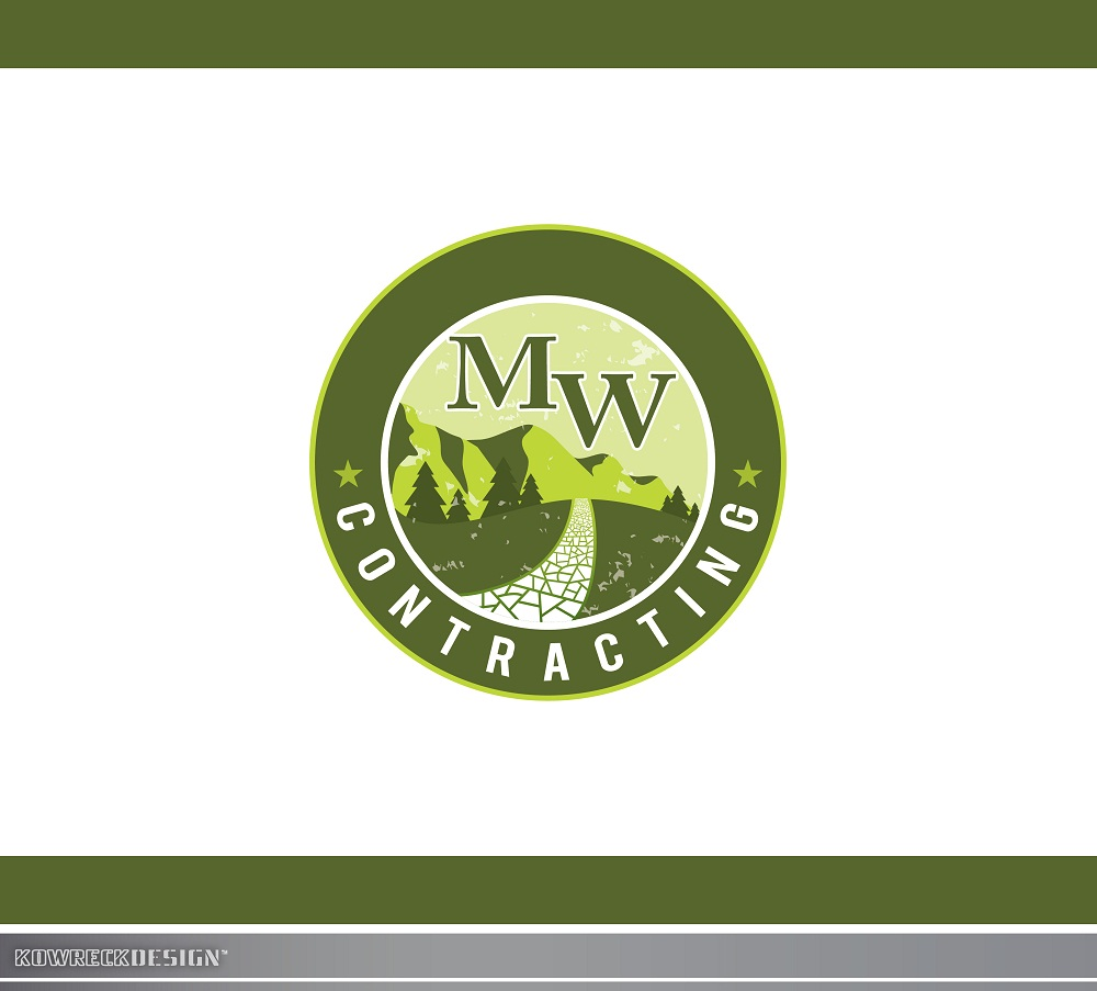 Logo Design by kowreck - Entry No. 66 in the Logo Design Contest Unique Logo Design Wanted for MW Contracting.