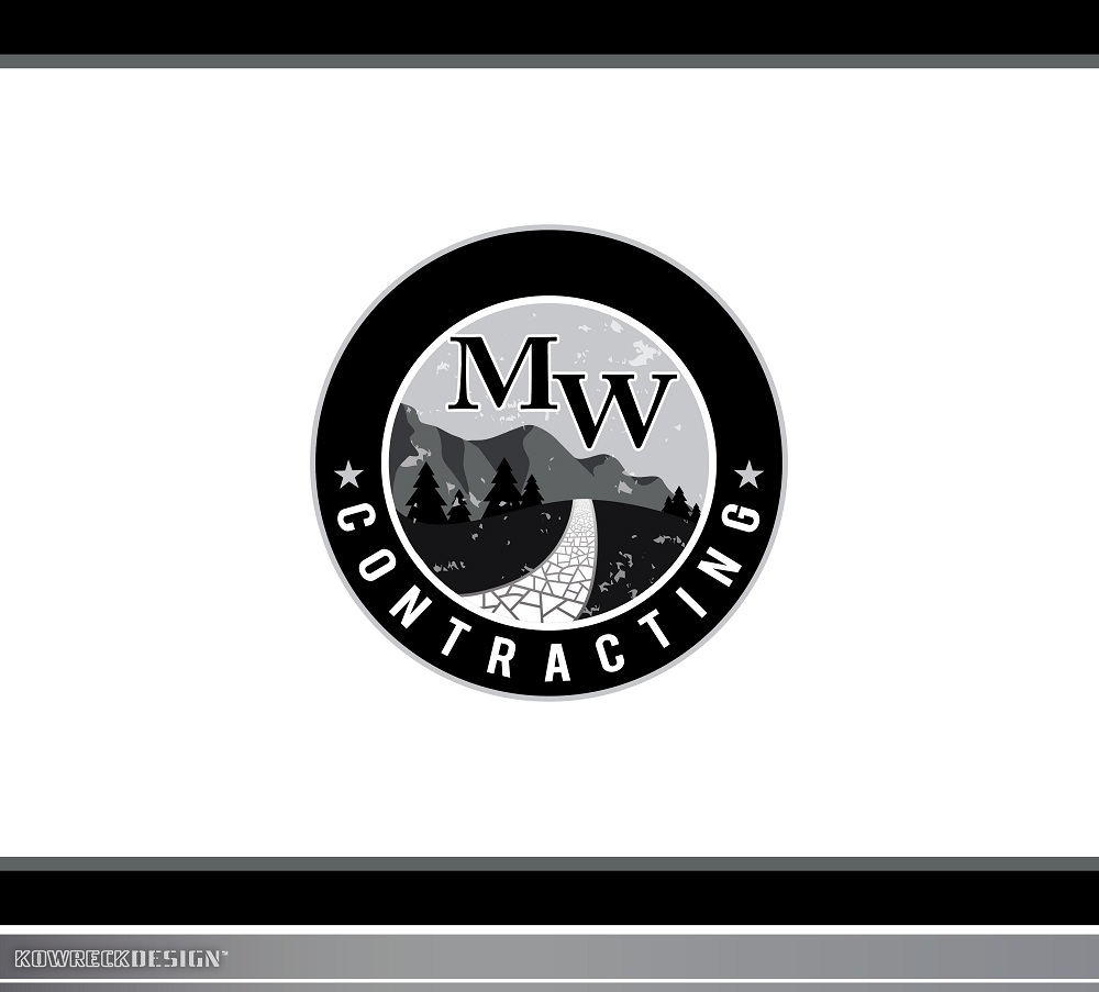 Logo Design by kowreck - Entry No. 68 in the Logo Design Contest Unique Logo Design Wanted for MW Contracting.