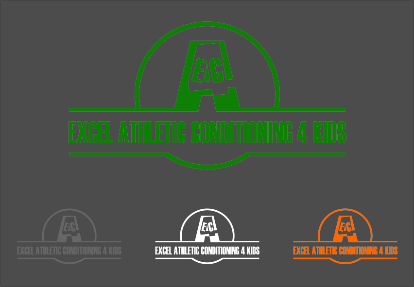 Logo Design by RasYa Muhammad Athaya - Entry No. 105 in the Logo Design Contest Artistic Logo Design for Excel Athletic Conditioning 4 kids.