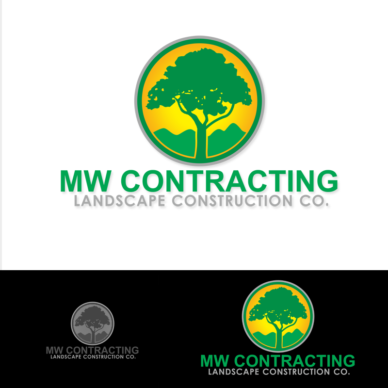 Logo Design by Robert Turla - Entry No. 75 in the Logo Design Contest Unique Logo Design Wanted for MW Contracting.