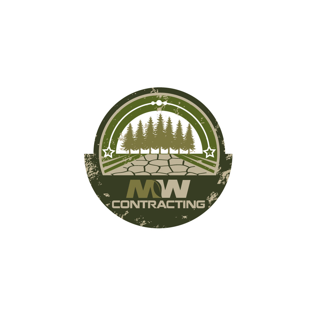Logo Design by rockin - Entry No. 76 in the Logo Design Contest Unique Logo Design Wanted for MW Contracting.