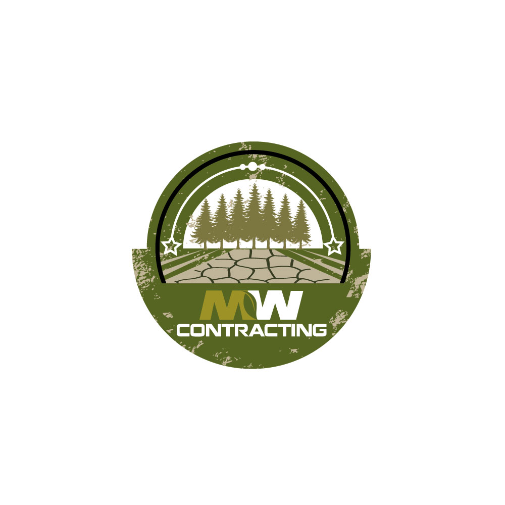 Logo Design by rockin - Entry No. 77 in the Logo Design Contest Unique Logo Design Wanted for MW Contracting.