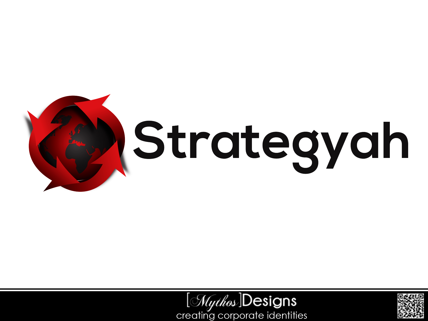 Logo Design by Mythos Designs - Entry No. 100 in the Logo Design Contest Creative Logo Design for Strategyah.