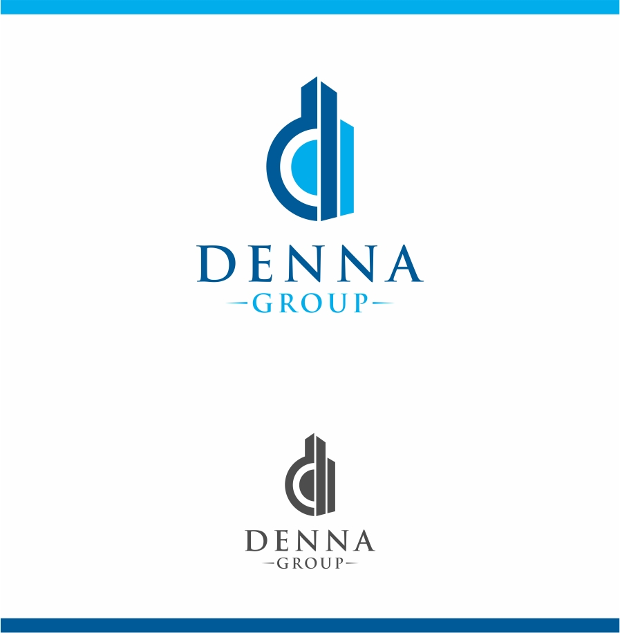 Logo Design by haidu - Entry No. 183 in the Logo Design Contest Denna Group Logo Design.