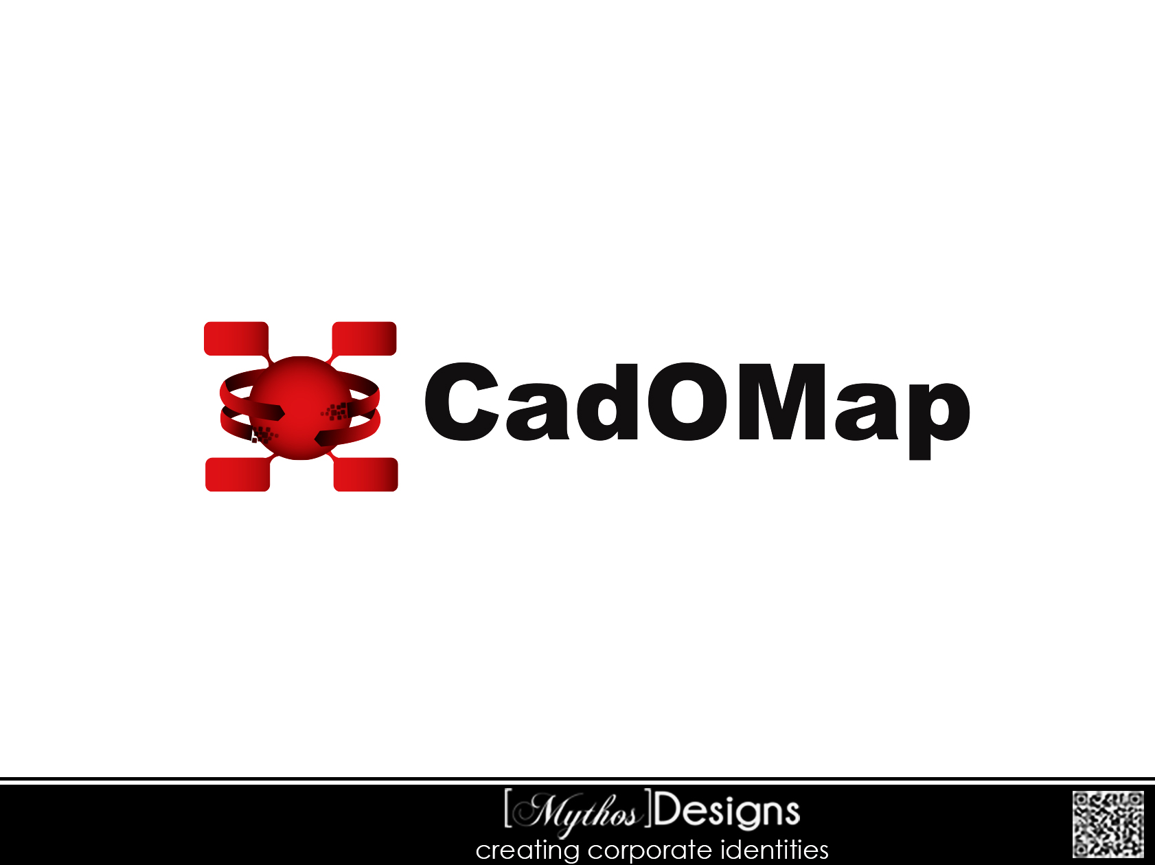 Logo Design by Mythos Designs - Entry No. 34 in the Logo Design Contest Captivating Logo Design for CadOMap software product.