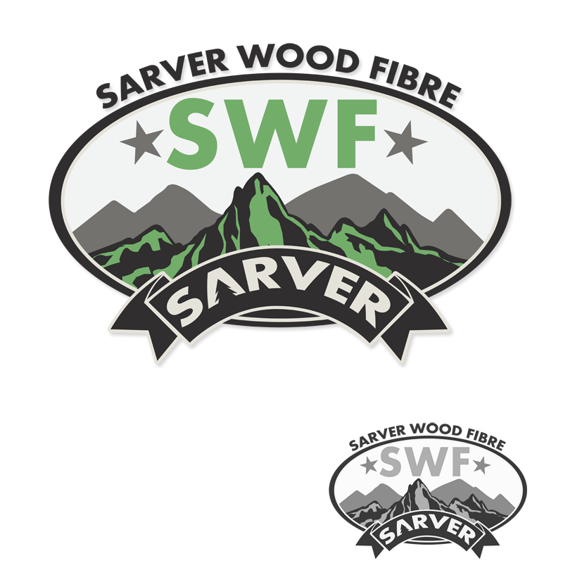 Logo Design by Robert Turla - Entry No. 23 in the Logo Design Contest Creative Logo Design for Sarver Wood Fibre..