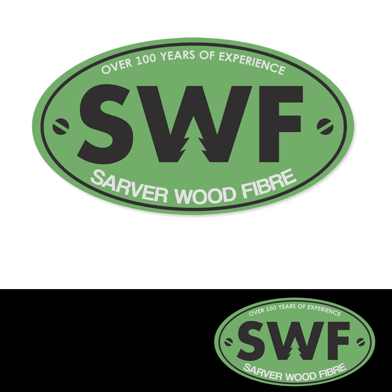 Logo Design by Private User - Entry No. 26 in the Logo Design Contest Creative Logo Design for Sarver Wood Fibre..