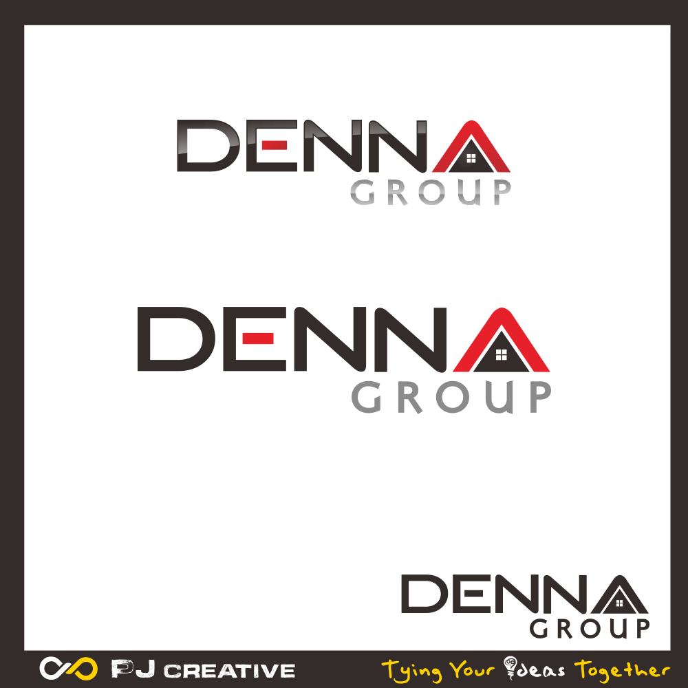 Logo Design by PJD - Entry No. 187 in the Logo Design Contest Denna Group Logo Design.