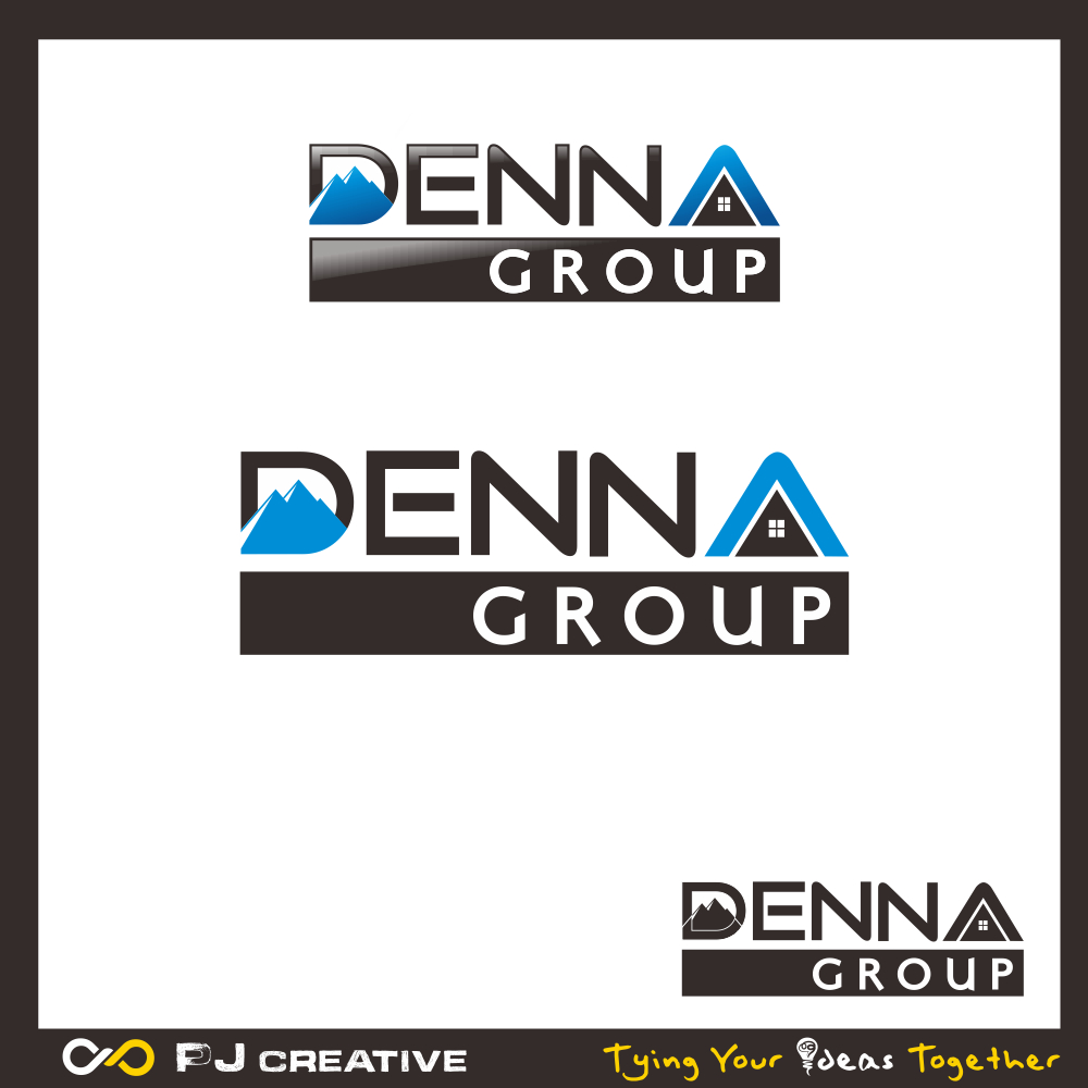 Logo Design by PJD - Entry No. 188 in the Logo Design Contest Denna Group Logo Design.