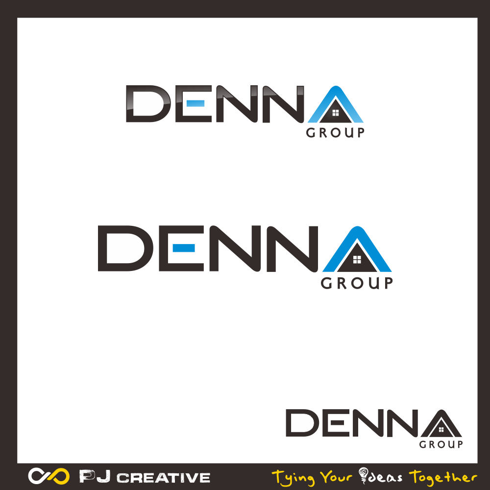 Logo Design by PJD - Entry No. 189 in the Logo Design Contest Denna Group Logo Design.