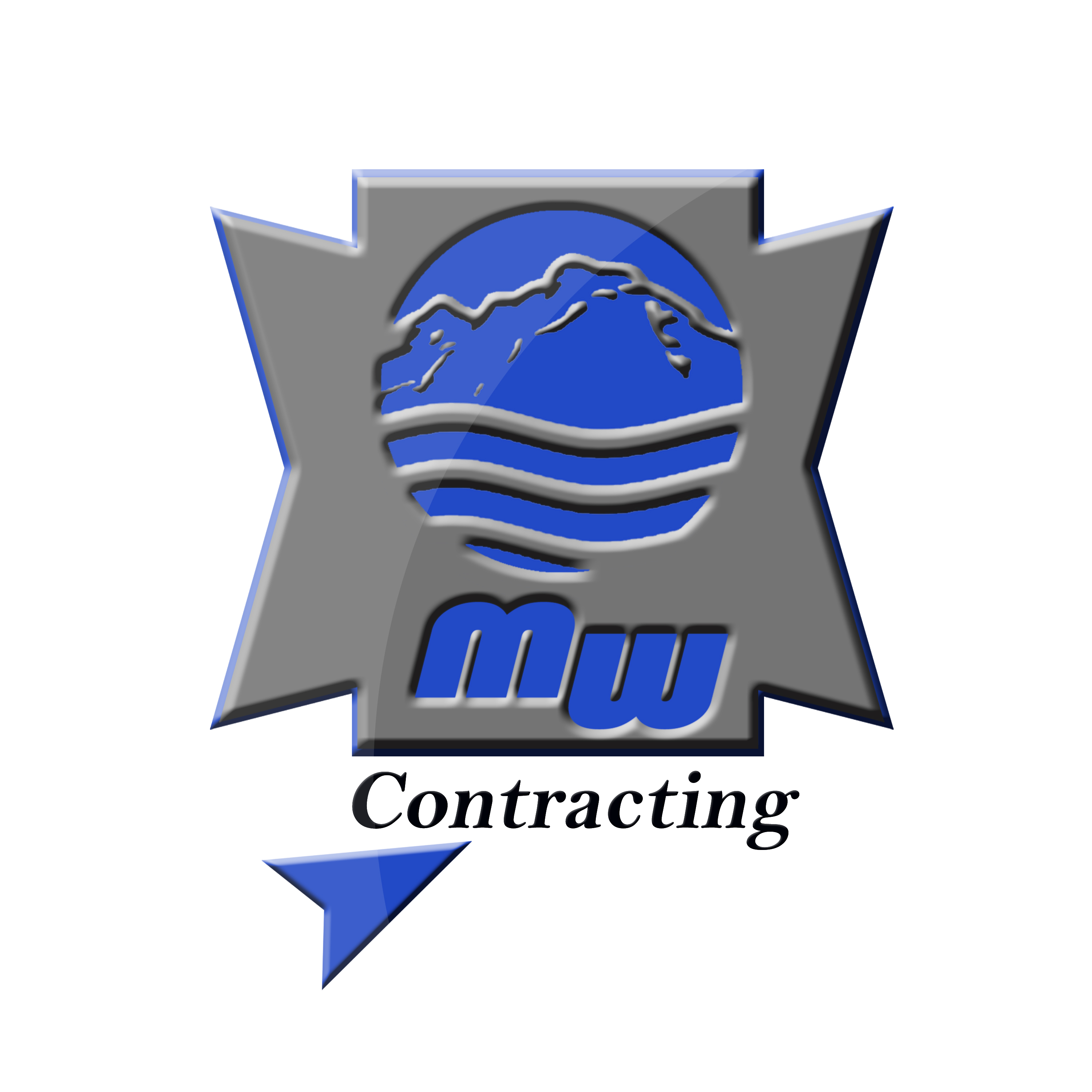 Logo Design by Roberto Sibbaluca - Entry No. 78 in the Logo Design Contest Unique Logo Design Wanted for MW Contracting.