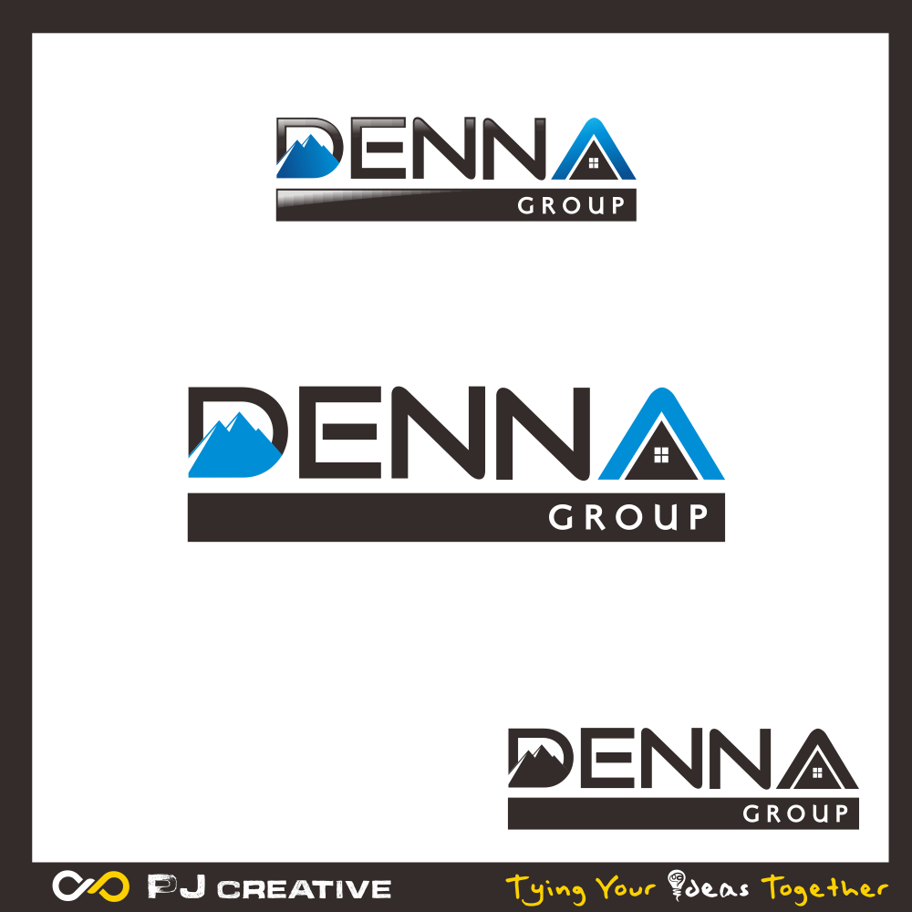 Logo Design by PJD - Entry No. 190 in the Logo Design Contest Denna Group Logo Design.