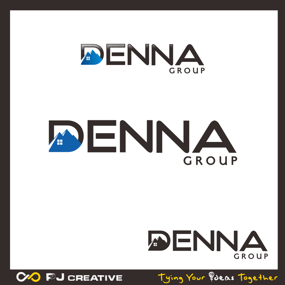 Logo Design by PJD - Entry No. 191 in the Logo Design Contest Denna Group Logo Design.