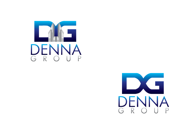 Logo Design by Private User - Entry No. 193 in the Logo Design Contest Denna Group Logo Design.