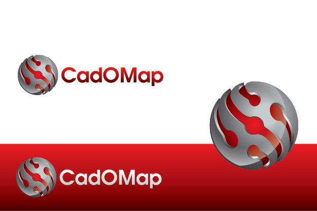 Logo Design by Private User - Entry No. 35 in the Logo Design Contest Captivating Logo Design for CadOMap software product.