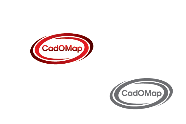 Logo Design by Private User - Entry No. 36 in the Logo Design Contest Captivating Logo Design for CadOMap software product.