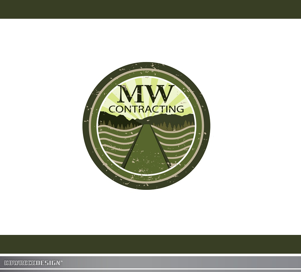 Logo Design by kowreck - Entry No. 79 in the Logo Design Contest Unique Logo Design Wanted for MW Contracting.