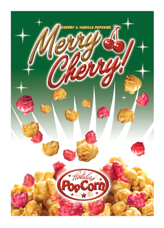 Packaging Design by Severiano Fernandes - Entry No. 26 in the Packaging Design Contest Imaginative Packaging Design for Holiday Popcorn.