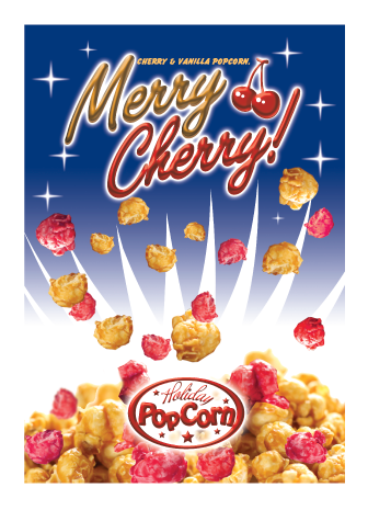 Packaging Design by Severiano Fernandes - Entry No. 27 in the Packaging Design Contest Imaginative Packaging Design for Holiday Popcorn.