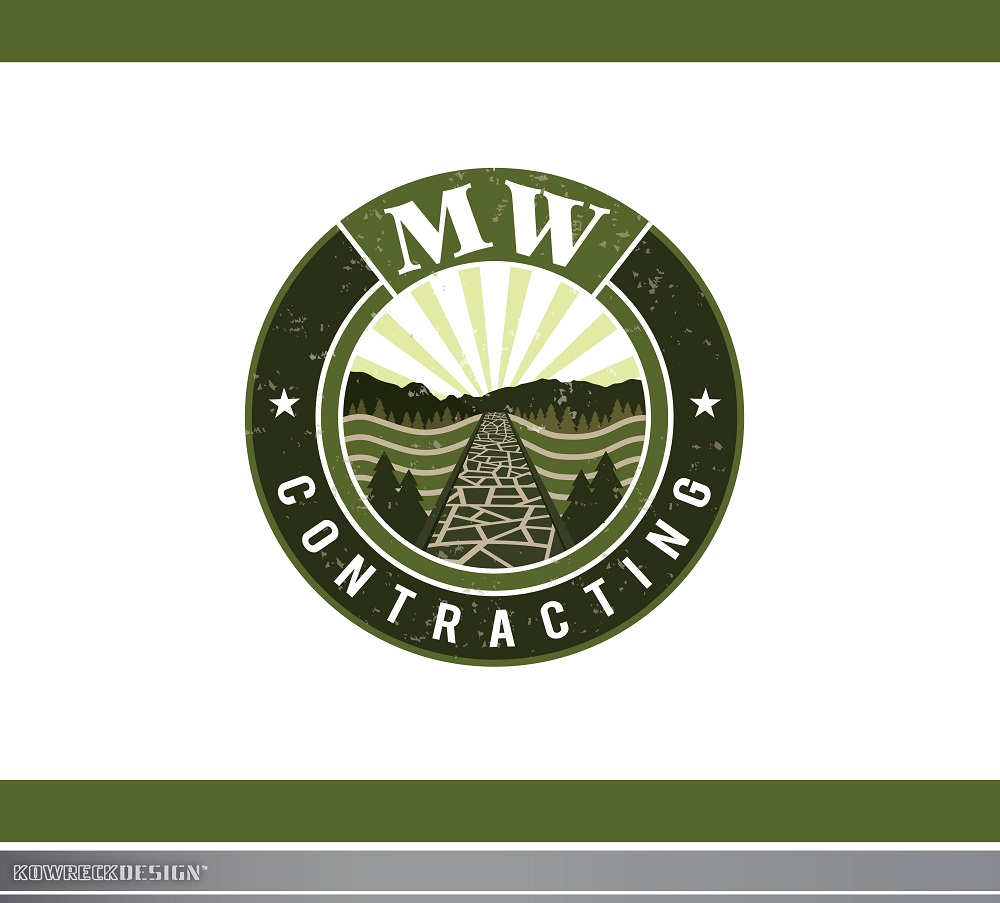 Logo Design by kowreck - Entry No. 81 in the Logo Design Contest Unique Logo Design Wanted for MW Contracting.