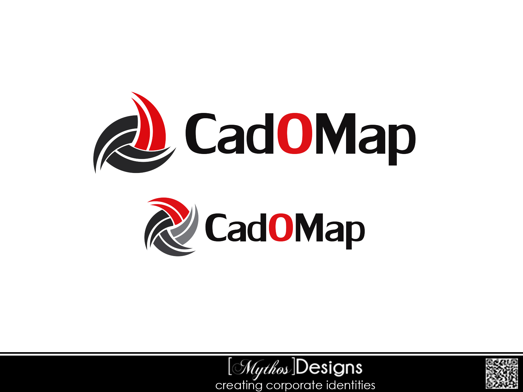 Logo Design by Mythos Designs - Entry No. 37 in the Logo Design Contest Captivating Logo Design for CadOMap software product.