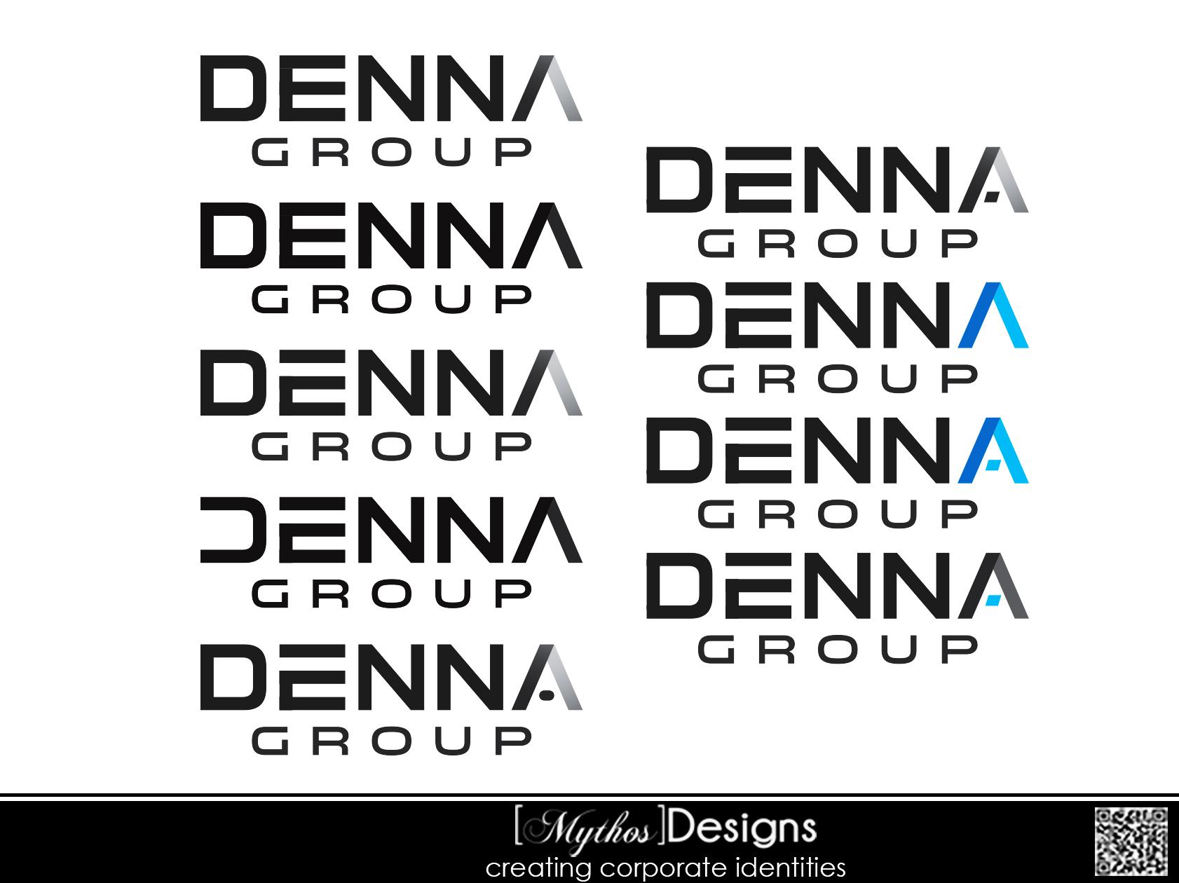 Logo Design by Mythos Designs - Entry No. 208 in the Logo Design Contest Denna Group Logo Design.