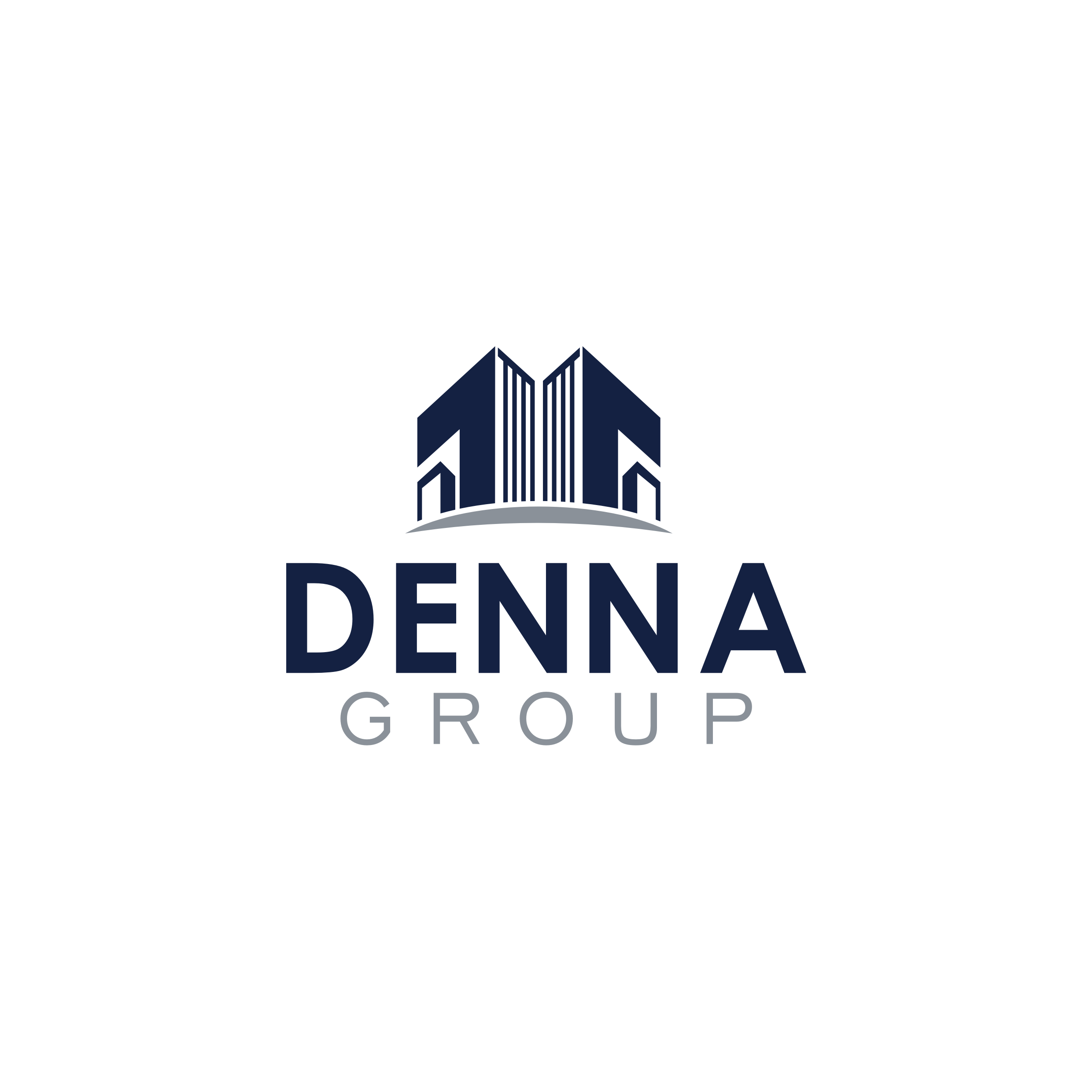 Logo Design by hkdesign - Entry No. 213 in the Logo Design Contest Denna Group Logo Design.