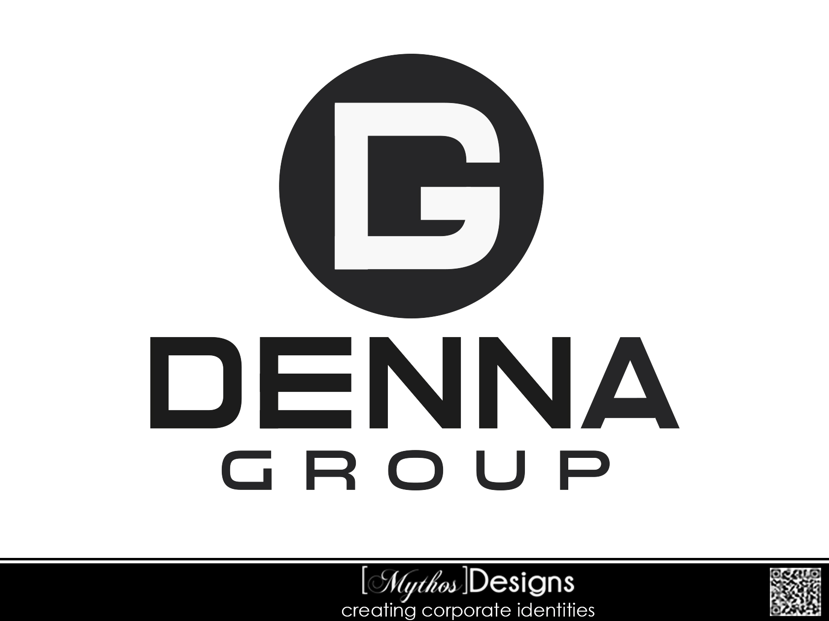 Logo Design by Mythos Designs - Entry No. 219 in the Logo Design Contest Denna Group Logo Design.