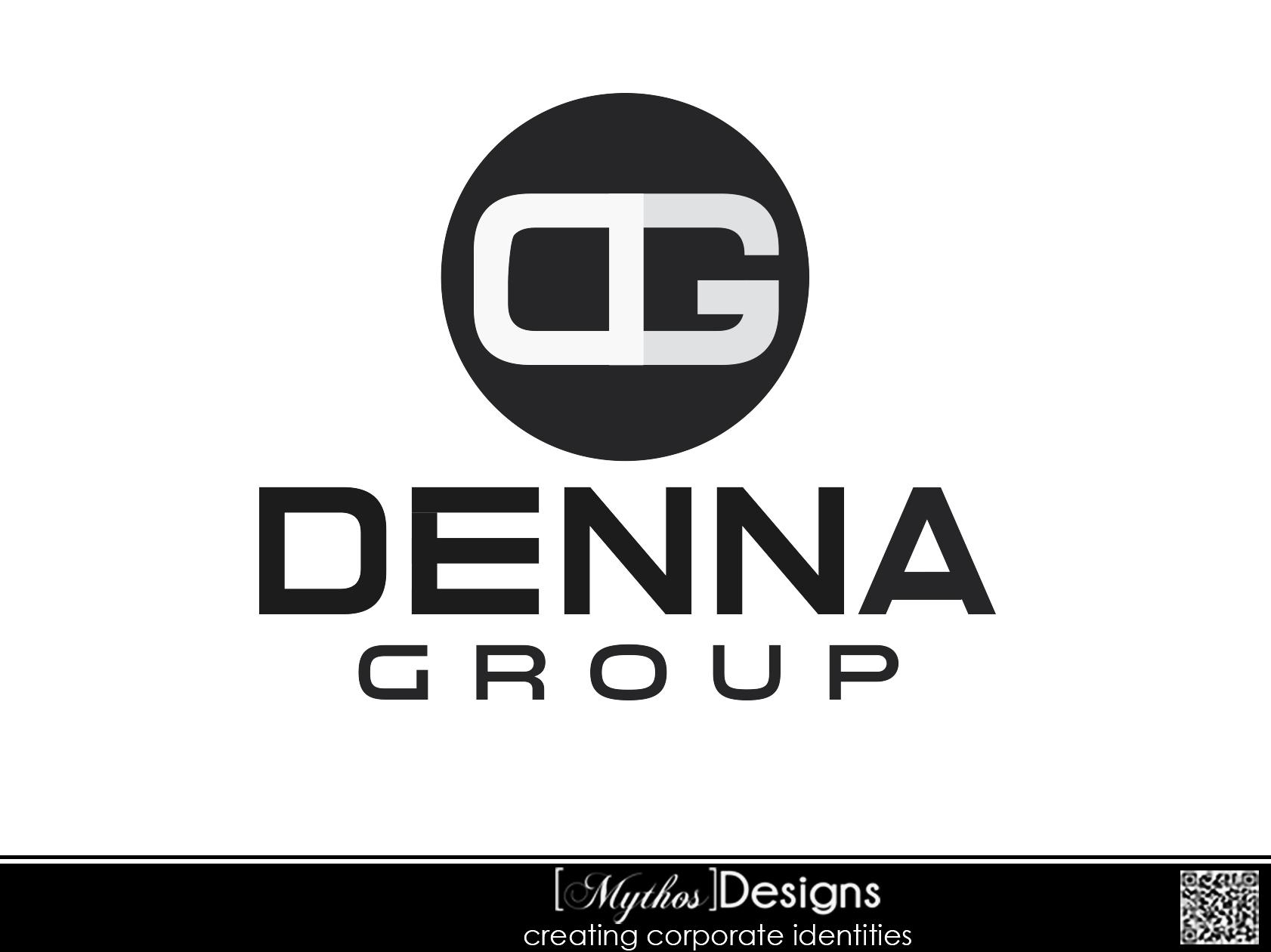 Logo Design by Mythos Designs - Entry No. 221 in the Logo Design Contest Denna Group Logo Design.