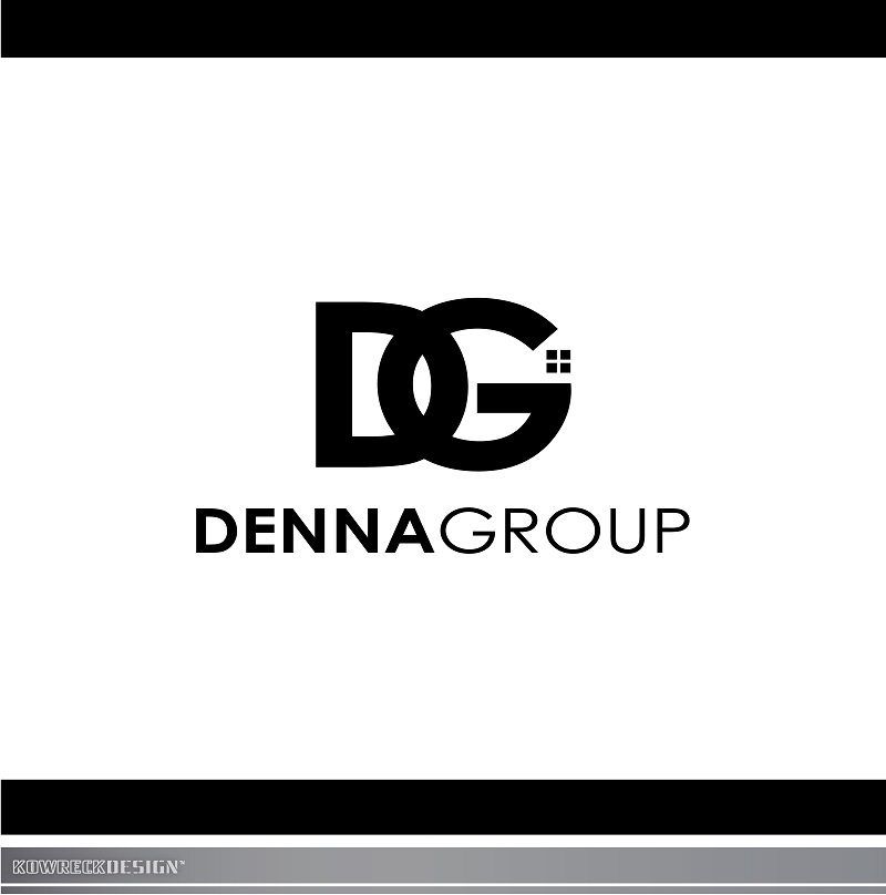 Logo Design by kowreck - Entry No. 227 in the Logo Design Contest Denna Group Logo Design.