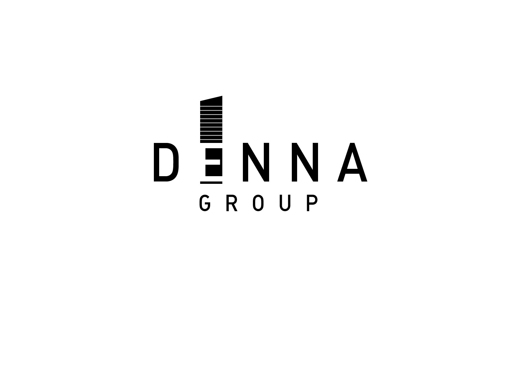 Logo Design by Sabrina Amalin - Entry No. 236 in the Logo Design Contest Denna Group Logo Design.