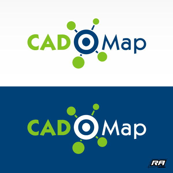 Logo Design by RA-Design - Entry No. 38 in the Logo Design Contest Captivating Logo Design for CadOMap software product.