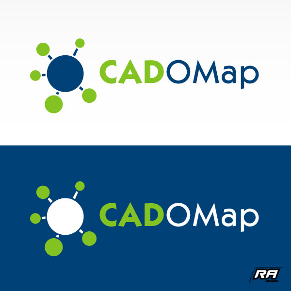 Logo Design by RA-Design - Entry No. 39 in the Logo Design Contest Captivating Logo Design for CadOMap software product.