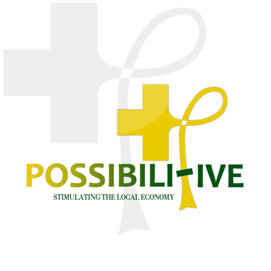 Logo Design by Renier  Bajala - Entry No. 156 in the Logo Design Contest Unemployment Specials / Possibilitive (Possible+Positive).