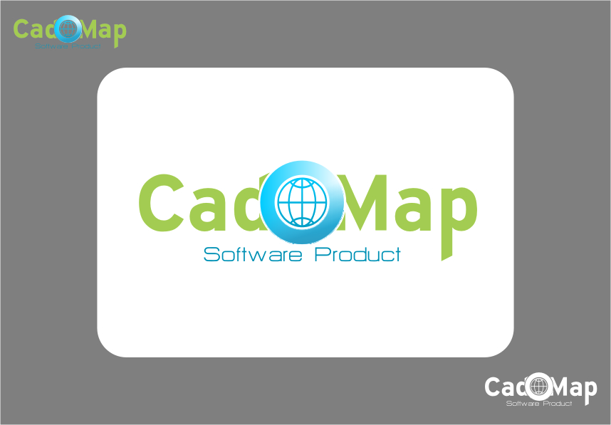 Logo Design by Ngepet_art - Entry No. 40 in the Logo Design Contest Captivating Logo Design for CadOMap software product.