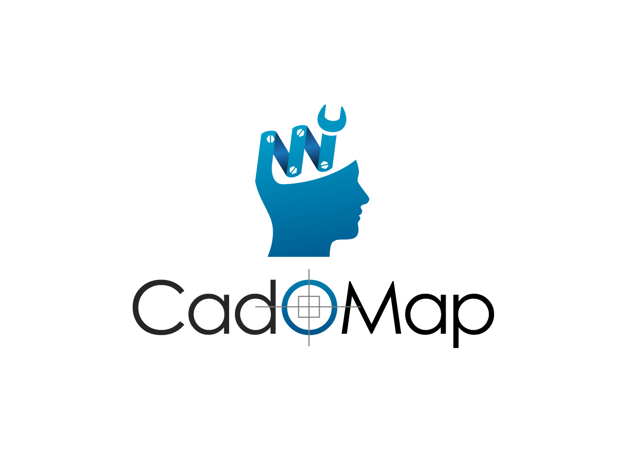Logo Design by jpbituin - Entry No. 41 in the Logo Design Contest Captivating Logo Design for CadOMap software product.