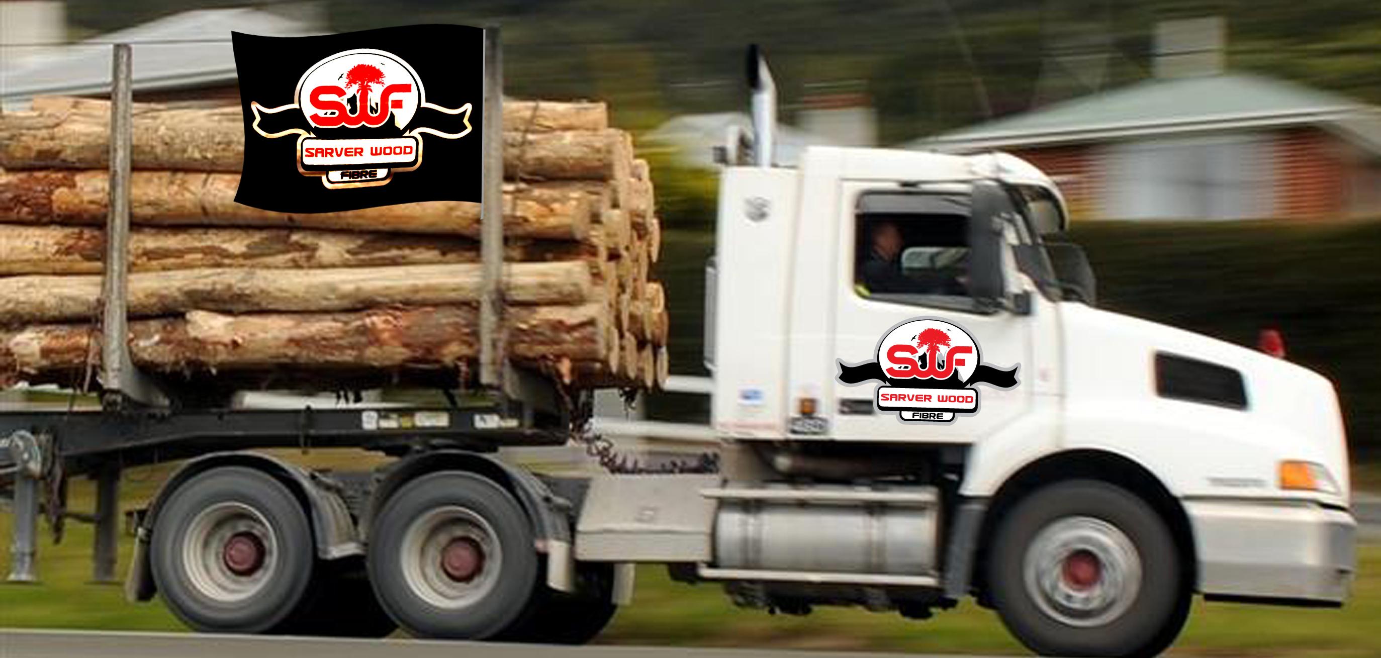 Logo Design by lagalag - Entry No. 36 in the Logo Design Contest Creative Logo Design for Sarver Wood Fibre..