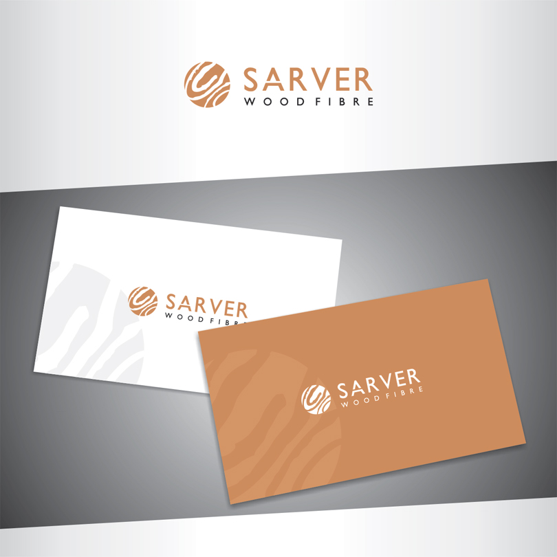 Logo Design by vdhadse - Entry No. 38 in the Logo Design Contest Creative Logo Design for Sarver Wood Fibre..