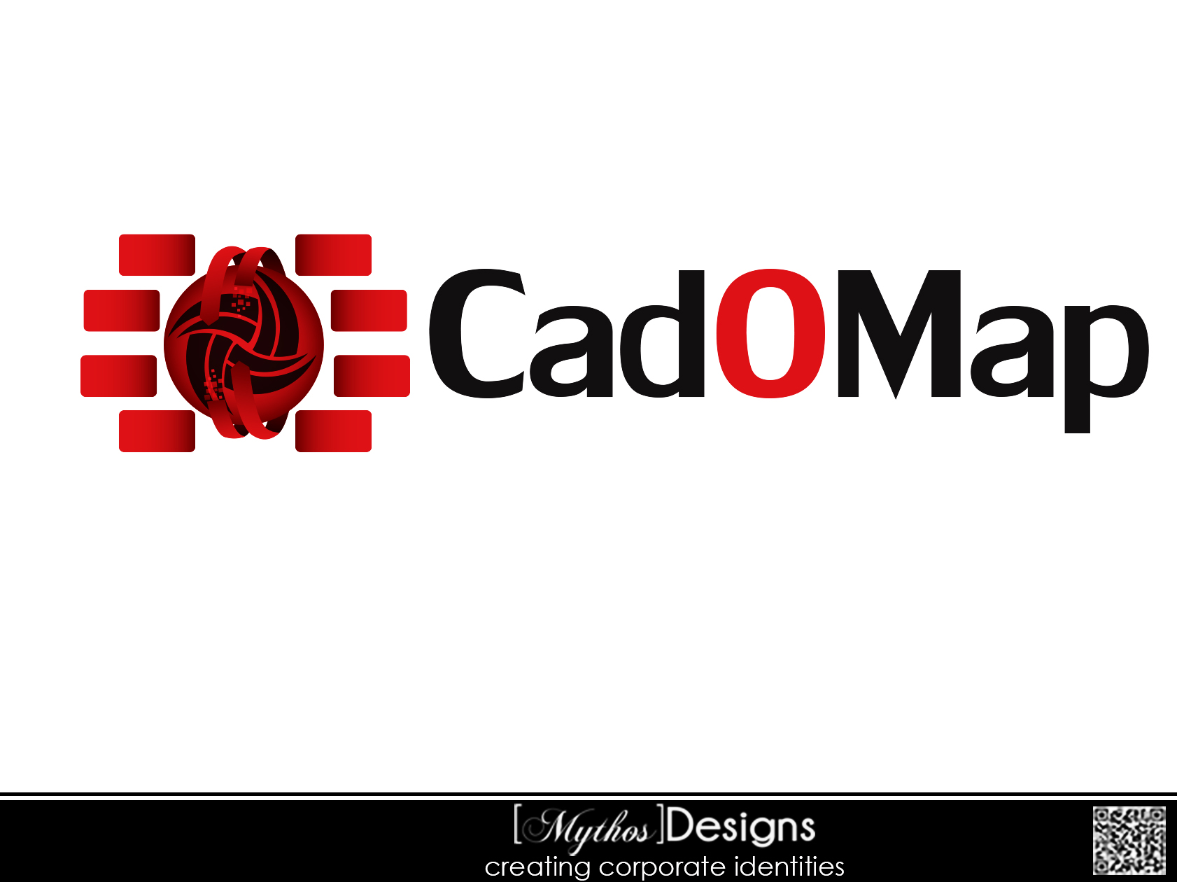 Logo Design by Mythos Designs - Entry No. 44 in the Logo Design Contest Captivating Logo Design for CadOMap software product.