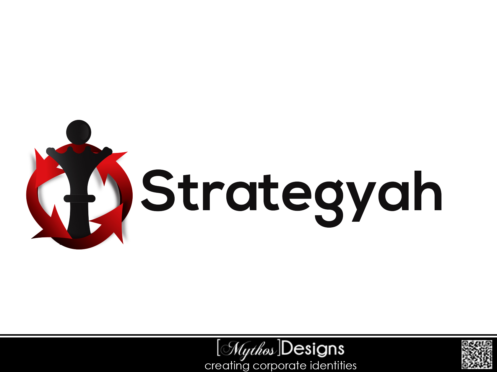 Logo Design by Mythos Designs - Entry No. 154 in the Logo Design Contest Creative Logo Design for Strategyah.