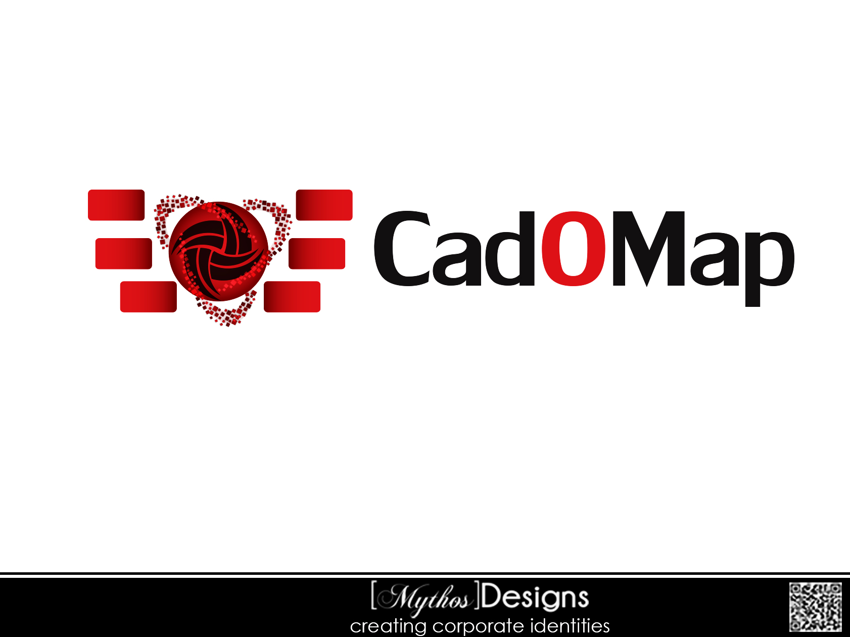 Logo Design by Mythos Designs - Entry No. 48 in the Logo Design Contest Captivating Logo Design for CadOMap software product.